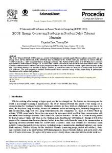 ECOP: Energy Conserving Postboxes in Postbox ... - ScienceDirect.com