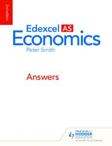 Edexcel AS, 2nd edition (Peter Smith) - Hodder Plus Home