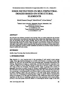 edge detection in multispectral images based on ... - Aircc Digital Library