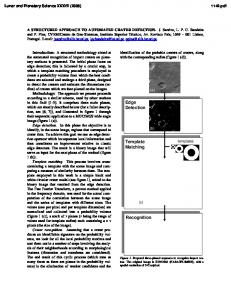 Edge Detection Template Matching Recognition