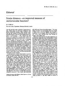 Editorial cardiovascular function? - Europe PMC
