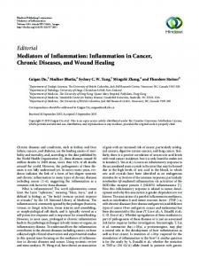 Editorial Mediators of Inflammation: Inflammation in Cancer ... - Hindawi