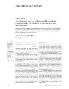 Education and debate - The BMJ