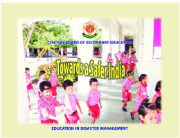 Education in Disaster Management - National Disaster Management ...