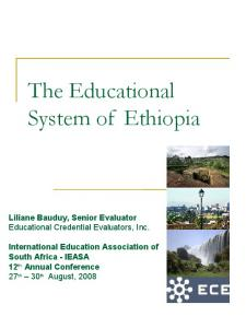 Education in Ethiopia