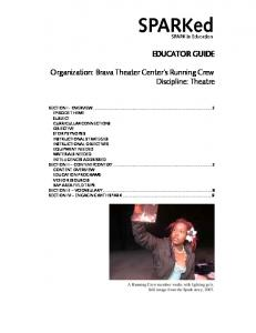 EDUCATOR GUIDE Organization: Brava Theater Center's ... - KQED