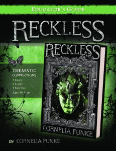 Educator's Guide - Cornelia Funke's Reckless