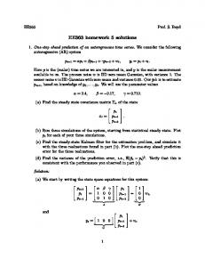EE363 homework 5 solutions