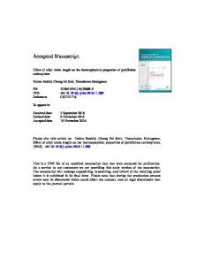 Effect of alkyl chain length on the thermophysical ...