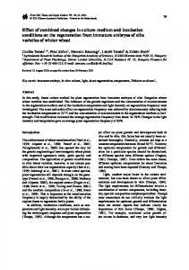 Effect of Combined Changes in Culture Medium and ... - Springer Link