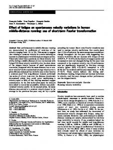 Effect of fatigue on spontaneous velocity variations ... - Semantic Scholar