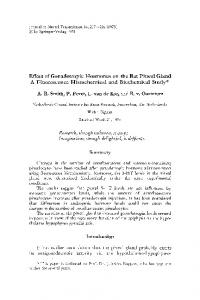 Effect of gonadotropic hormones on the rat pineal gland a ...