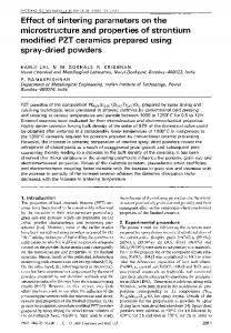Effect of sintering parameters on the microstructure and ... - Springer Link