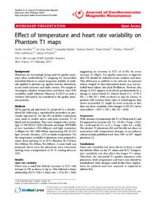 Effect of temperature and heart rate variability on ... - Springer Link