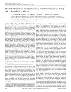 Effect of terbutaline on hyperpnoea-induced bronchoconstriction and ...