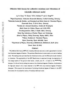 Effective field theory for collective rotations and vibrations of triaxially