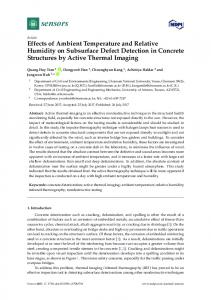 Effects of Ambient Temperature and Relative Humidity on ... - MDPI