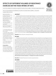 effects of different volumes of resistance exercise on
