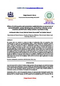 Effects of erythropoetine and oxymetolone coadministration ... - iMedpub