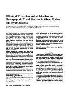 Effects of Fluoxetine Administration on ... - Wiley Online Library
