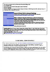 Effects of matenal stimulant medication on observed parenting.pdf