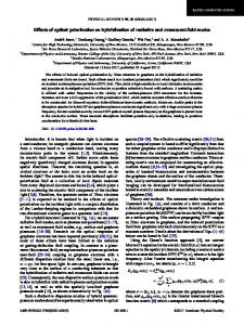 Effects of optical polarization on hybridization of ... - APS Link Manager