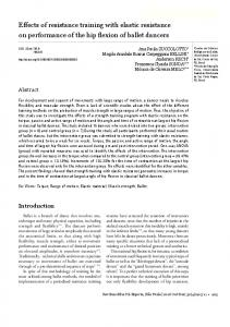 Effects of resistance training with elastic resistance on ... - SciELO