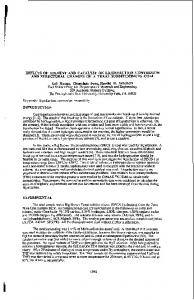 effects of solvent and catalyst on liquefaction conversion and structural ...