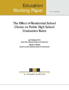 Effects of Special-Education Vouchers on the ... - Manhattan Institute