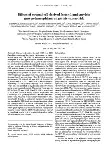 Effects of stromal cell-derived factor-1 and survivin gene ...