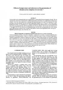 Effects of temperature and substrate on the