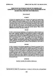 effects of the introduction of the mesopelagic longline on ... - Iccat