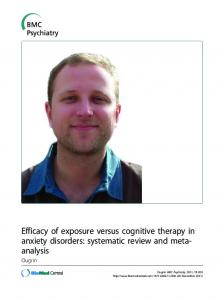 Efficacy of exposure versus cognitive therapy in ... - BMC Psychiatry
