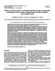Efficacy of isavuconazole, voriconazole and ... - Semantic Scholar