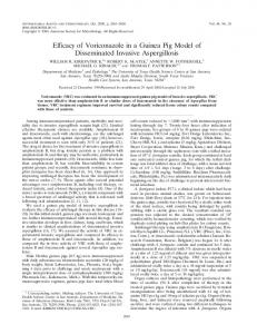 Efficacy of Voriconazole in a Guinea Pig Model of Disseminated ...