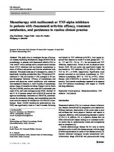 efficacy, treatment satisfaction, an