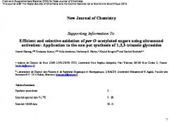 Efficient and selective azidation of per-O-acetylated sugars using