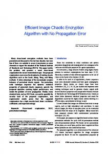 Efficient Image Chaotic Encryption Algorithm ... - Wiley Online Library