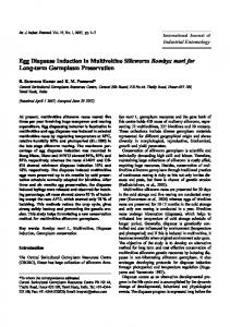 Egg Diapause Induction in Multivoltine Silkworm Bombyx mori for ...