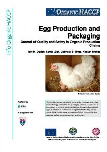 Egg Production and Packaging