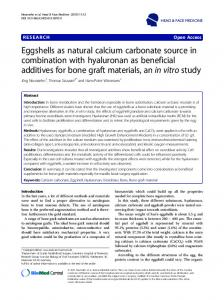 calcium carbonate in eggshells titration