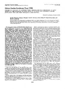 Ehlers Danlos Syndrome Type VIIB - The Journal of Biological Chemistry