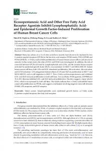 Eicosopentaneoic Acid and Other Free Fatty Acid Receptor Agonists ...