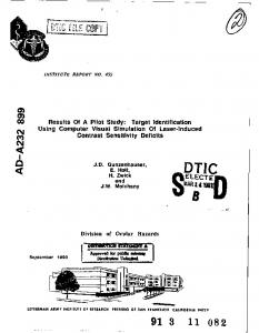 el.ectie - Defense Technical Information Center