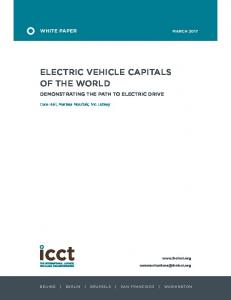 Electric vehicle capitals of the world - The International Council on ...