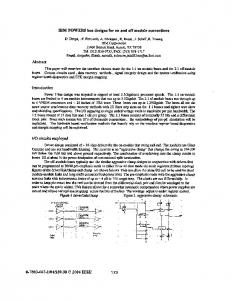 Electrical Perofrmance of Electronic Packaging, 2004 ... - IEEE Xplore