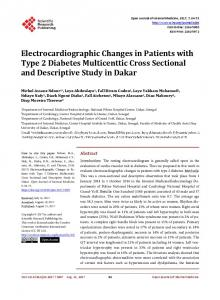 Electrocardiographic Changes in Patients with Type 2 Diabetes ...