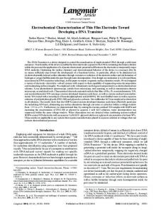 Electrochemical Characterization of Thin Film ... - ACS Publications