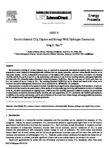 Electrochemical CO2 capture and storage with ... - ScienceDirect.com