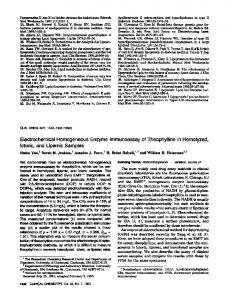 Electrochemical Homogeneous Enzyme ... - Clinical Chemistry